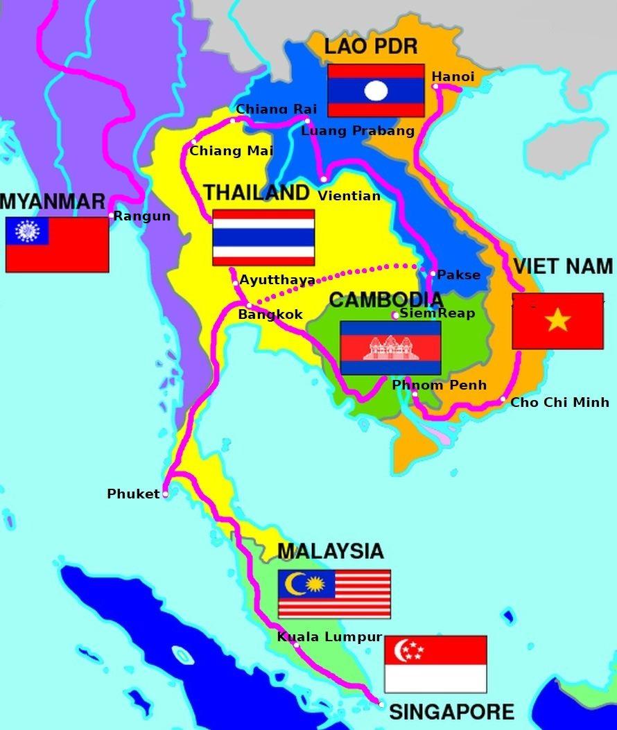 indochiny-map