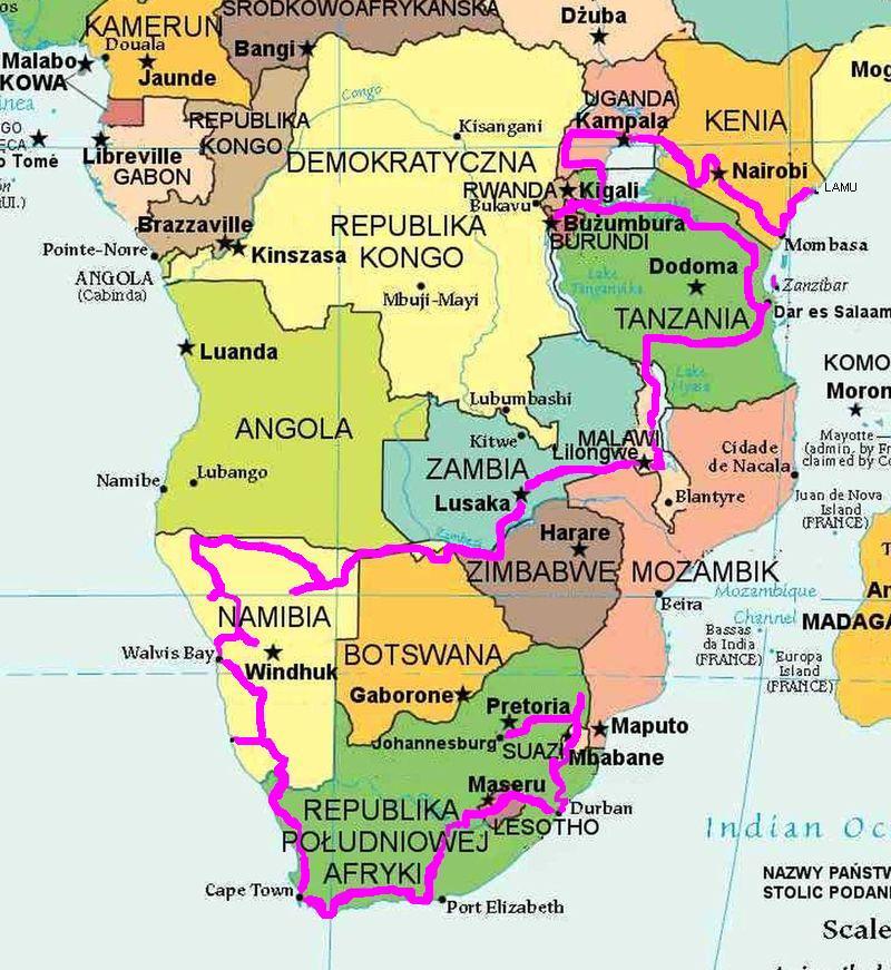 afryka_trasa-do-20-03-2014-map