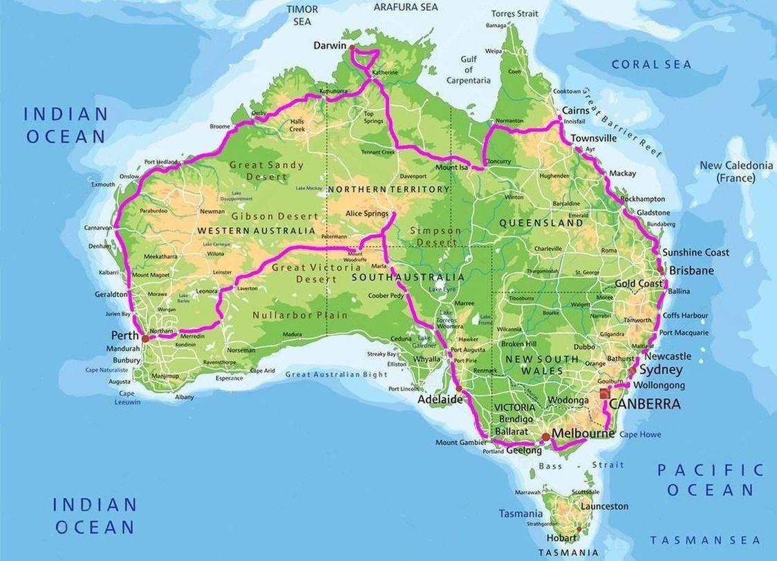 australia-trasa