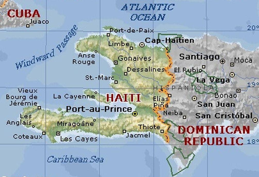 haiti-mapa