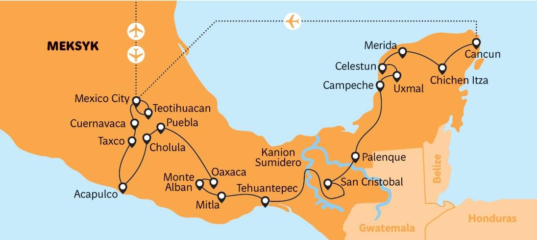 Meksyk-2021-map