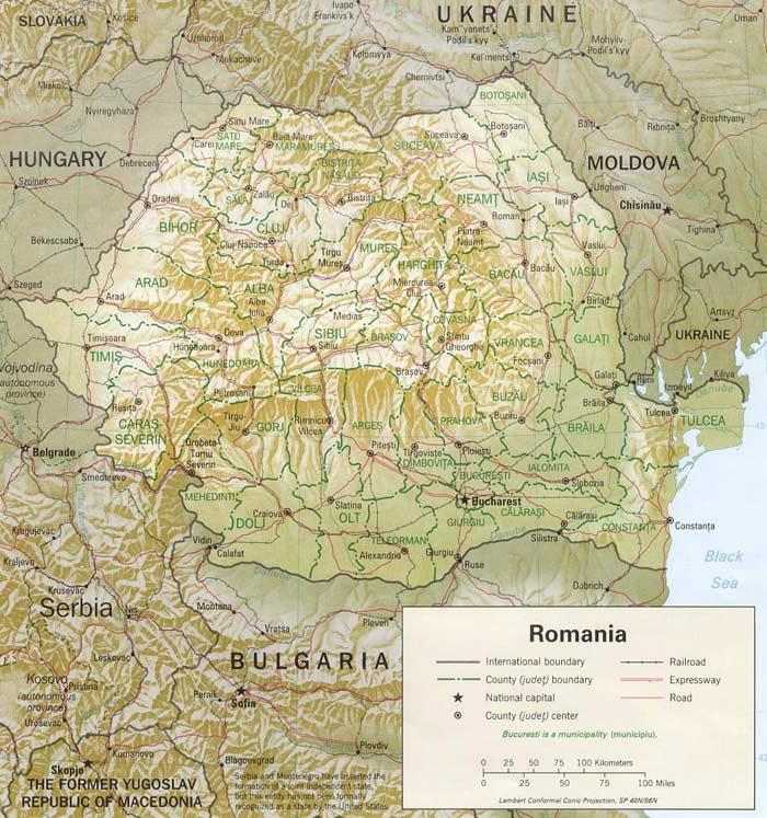 rumunia-mapa